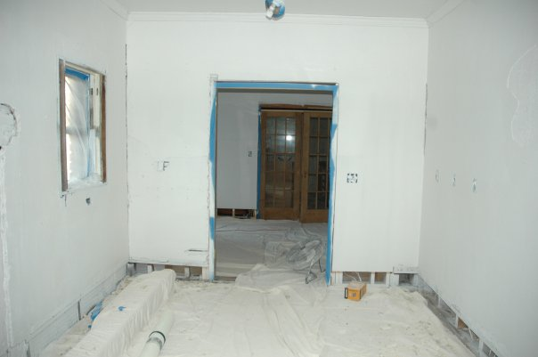 Walls Finally Starting To Look Normal This Photo Isnt The Most Recent But Only With Primer Sprayed On