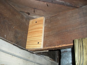 Plywood Sanwiched to Existing Joists