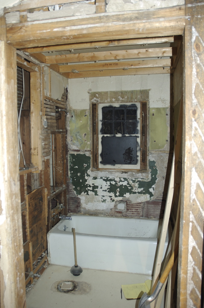 All Tiles Removed And Window Re Exposed You Can Still See The Dropped Ceiling