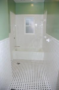 Tile job complete