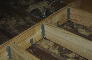 Joist Hangers and Hurricane Straps